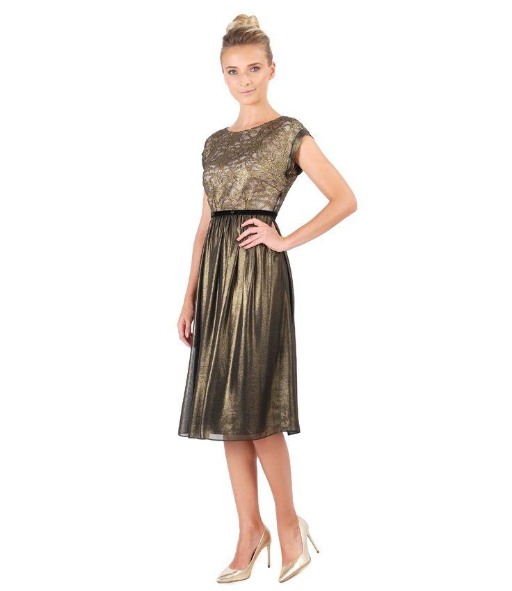 Let's dance! Summer 17 | YOKKO #lace #gold #dress #party #eveningdress #summer17 #yokko #fashion #style #beauty #madeinromania