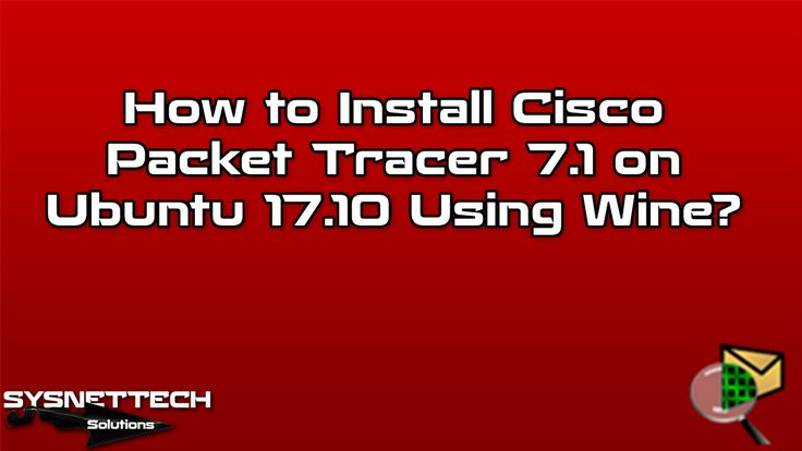 Installing Packet Tracer using Wine  #Cisco #CCNA #CiscoCCNA #CiscoSecurity #CiscoPacketTracer #PacketTracer #CiscoEğitimi #Bilişim #IT #CiscoSystems #CiscoRouter #CiscoSwitch #Switch #Router #Network #Networking #CiscoNetworking #PortSecurity #CiscoLearning #CiscoLessons #GNS3 #Switching #Routin