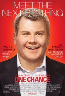 "Mi gran oportunidad (2013)  ""One Chance"" (original title) Director: David Frankel Writer: Justin Zackham (screenplay) Stars: James Corden, Alexandra Roach, Julie Walters"