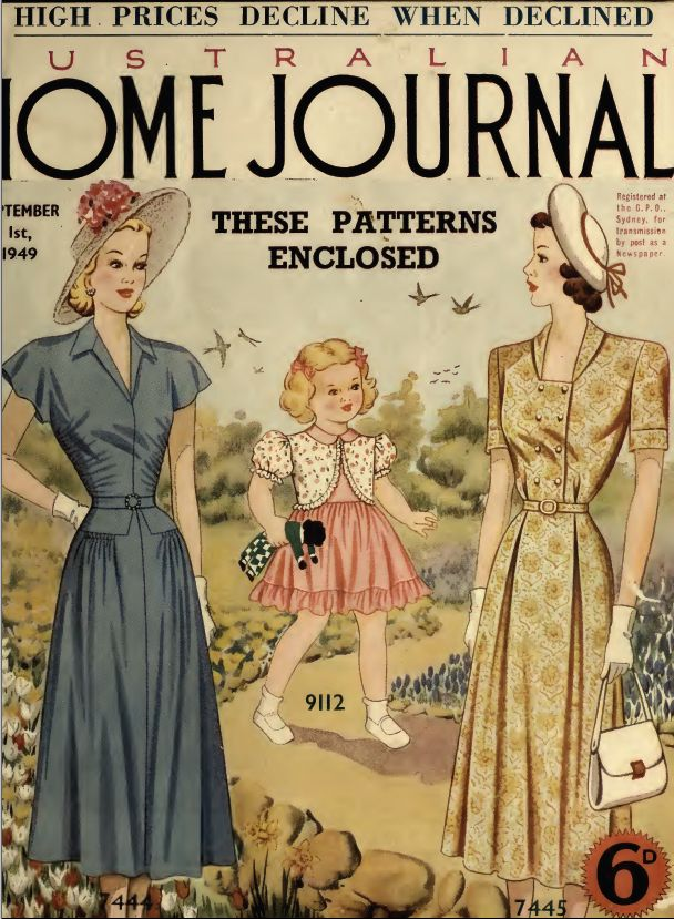 185 besten Australian home journal - covers and patterns Bilder auf ...