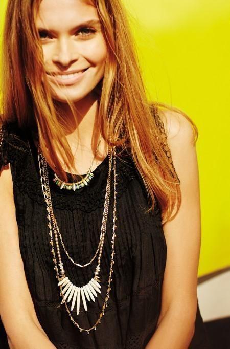 Gold zuni layering necklace stella dot style for Stella and dot jewelry wholesale