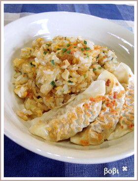 ◆・.。*餃子炒飯*。.・◆ by bobitin [クックパッド] 簡単おいしい ...