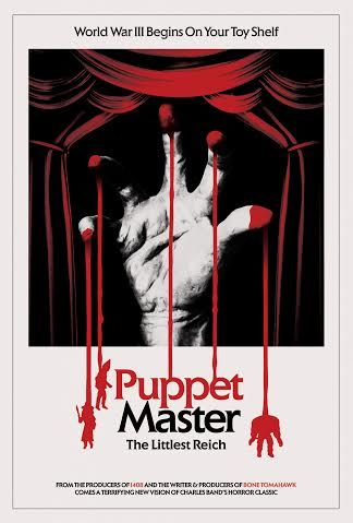 PUPPET MASTER: THE LITTLEST REICH Coming from Charles Band, Di Bonaventura Pictures, Caliber Media & S. Craig Zahler
