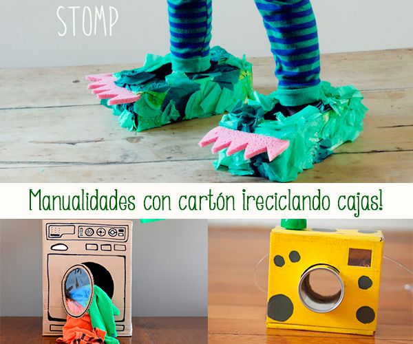 82 best images about manualidades con cart n on pinterest - Manualidades con cajas ...