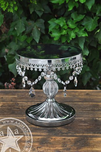 Vintage Cake Stand | Silver