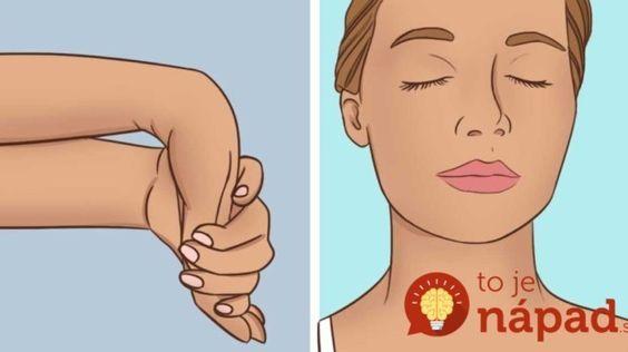 Ak ohnete ruku týmto spôsobom a vydržíte 5 sekúnd, bude to mať prekvapivý vplyv na váš mozog!