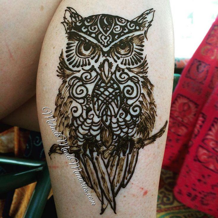 Henna Mehndi Ilford Lane : Best tribal owl tattoos ideas on pinterest