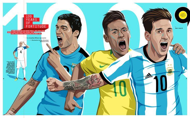 Michael Bradley /Luis Suárez /Neymar Jr /Lionel Messi