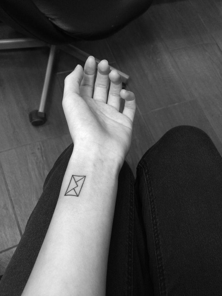 Envelope tattoo
