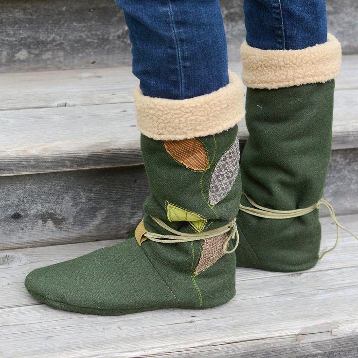 Tie Back Boots - Women's + Men's