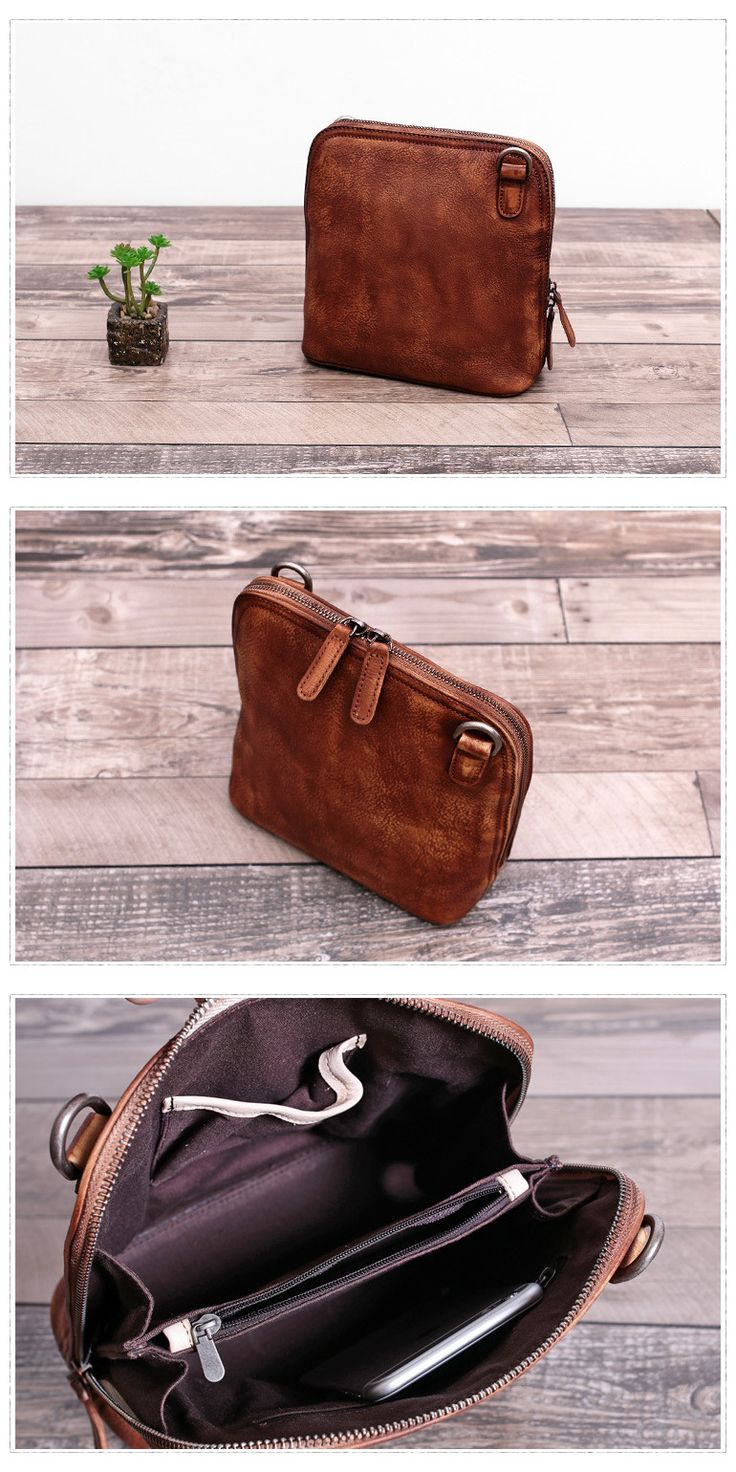 Vintage Women Leather Cross body Bag Shell Bag Feature: 1. Comfortable Shoulder Strap 2. Solid Quality Hardware 3. Fabric Lining 4. Inside zipper pocket ---------------------------------------- Measur