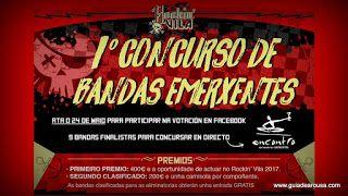 I Concurso Bandas Emerxentes may'17 _evento @RockinVila 18sem 19sem 2017 20sem 21sem 24may anuncio destacado evento mayo musica ribadumia vilanova
