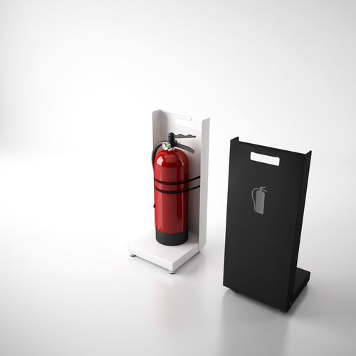 Fire-extinguisher stand FAYA by Fernando Gil Systemtronic