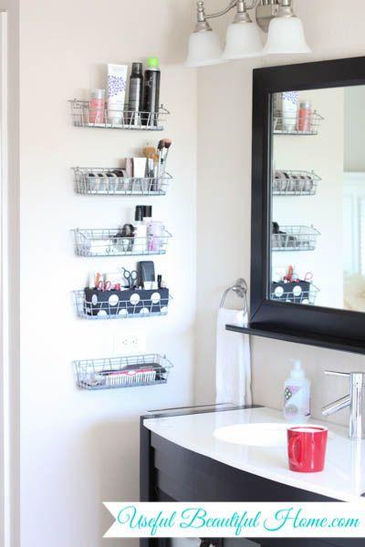 Top 25 Best Bathroom Vanity Storage Ideas On Pinterest