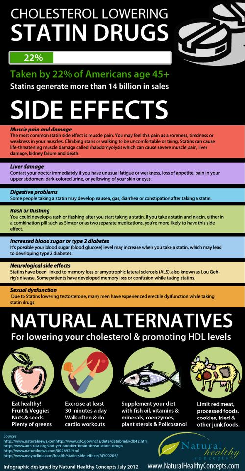 Natural alternatives to lower # cholesterol