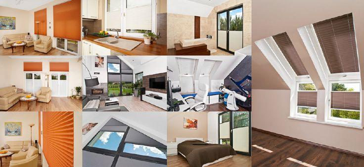 Plisy elektryczne firmy Mio Decor, świetne zarówno do salonu, jak i na poddasze, do okien dachowych.