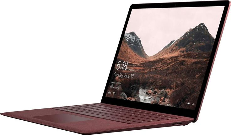 "Microsoft - Surface Laptop – 13.5"" - Intel Core i7 – 16GB Memory – 512GB Solid State Drive - Burgundy (Red)"