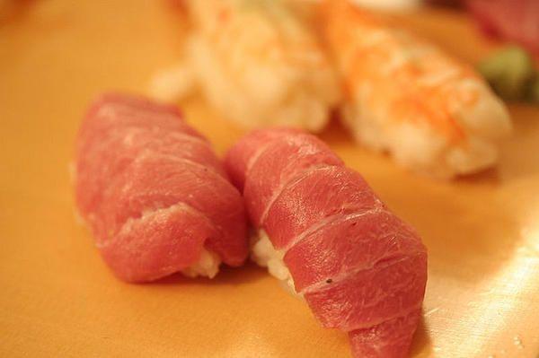 Toro Sushi (Fatty Bluefin Tuna belly)