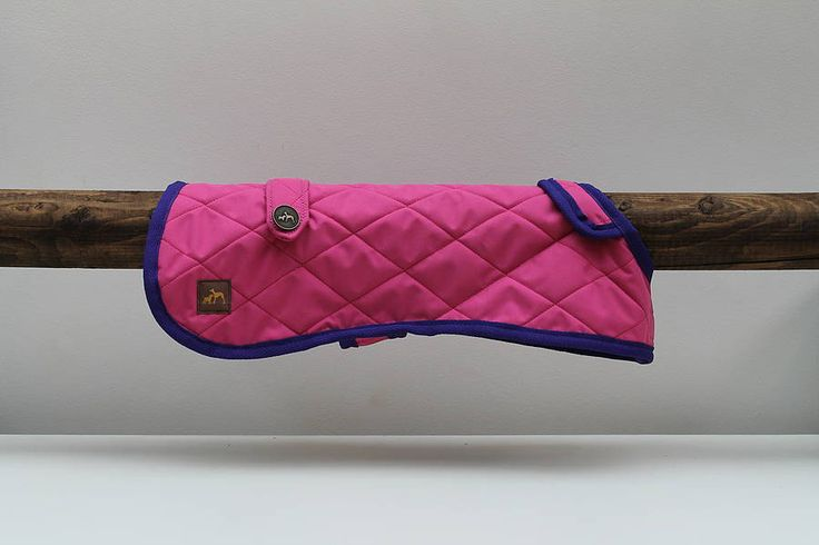 quilted waterproof dog coat by country and twee | notonthehighstreet.com