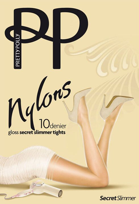 1d5fef4082a (eBay Sponsored) Pretty Polly Nylons Secret Slimmer 10 Denier Gloss Tights  Medium Control Top