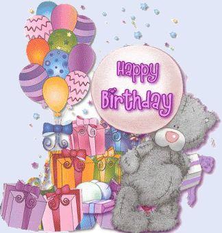 .ʕ •́؈•̀ ₎♥.                                                      Happy birthday Tatty Bear