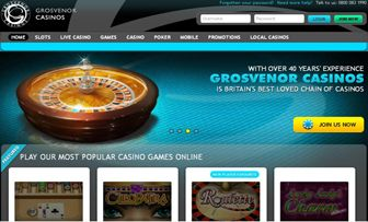 "Grosvenor Casinos , who operates within the brand of online casino chain having  United Kingdom's biggest and over 40 years of successful history, is registered in  one of  the most vigorous and principled commissions of the sector, namely ""Alderney Ga ..."