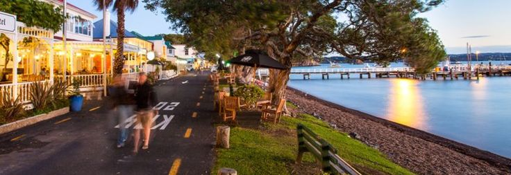 Quaint and charming, the township of Russell is steeped in early New Zealand history.
