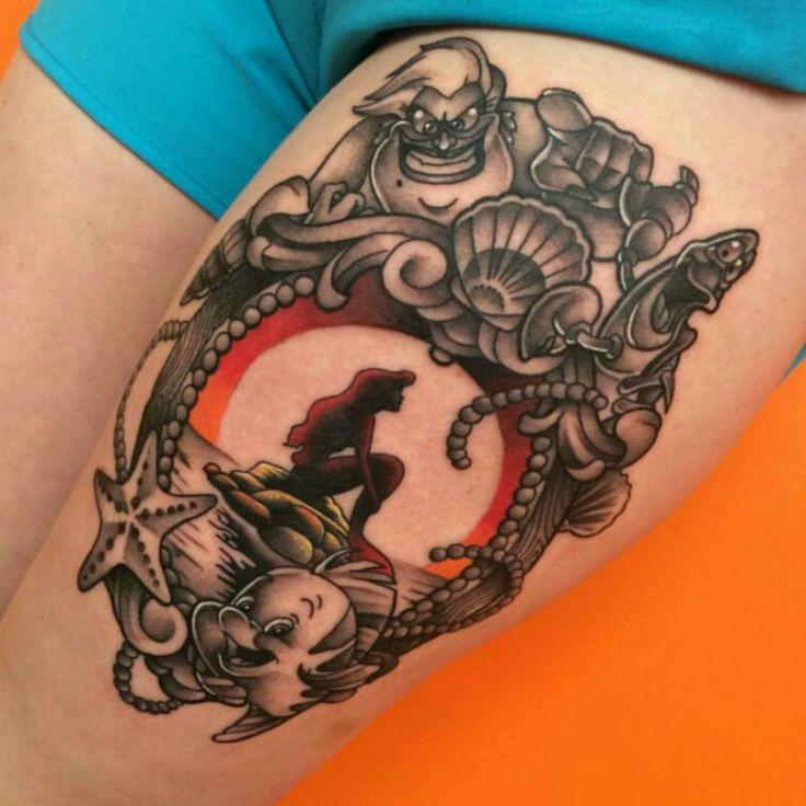 Little mermaid tattoo tattoo ideas pinterest for Mermaid tattoos pinterest