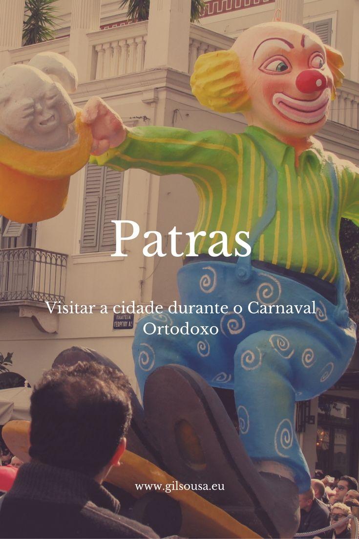 #Carnaval de #Patras no fim-de-semana prolongado