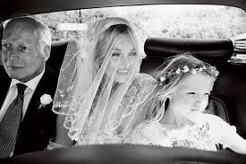 The absolutely gorgeous #katemoss on her #wedding #day Stunning #classic #beauty