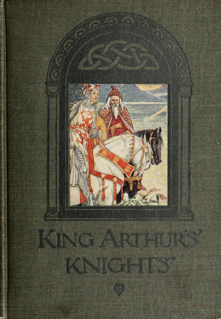 King Arthur's knights; the tales retold for boys and girls by Henry Gilbert. With 16 Illustrations in colour by Walter Crane. Edinburgh & London.