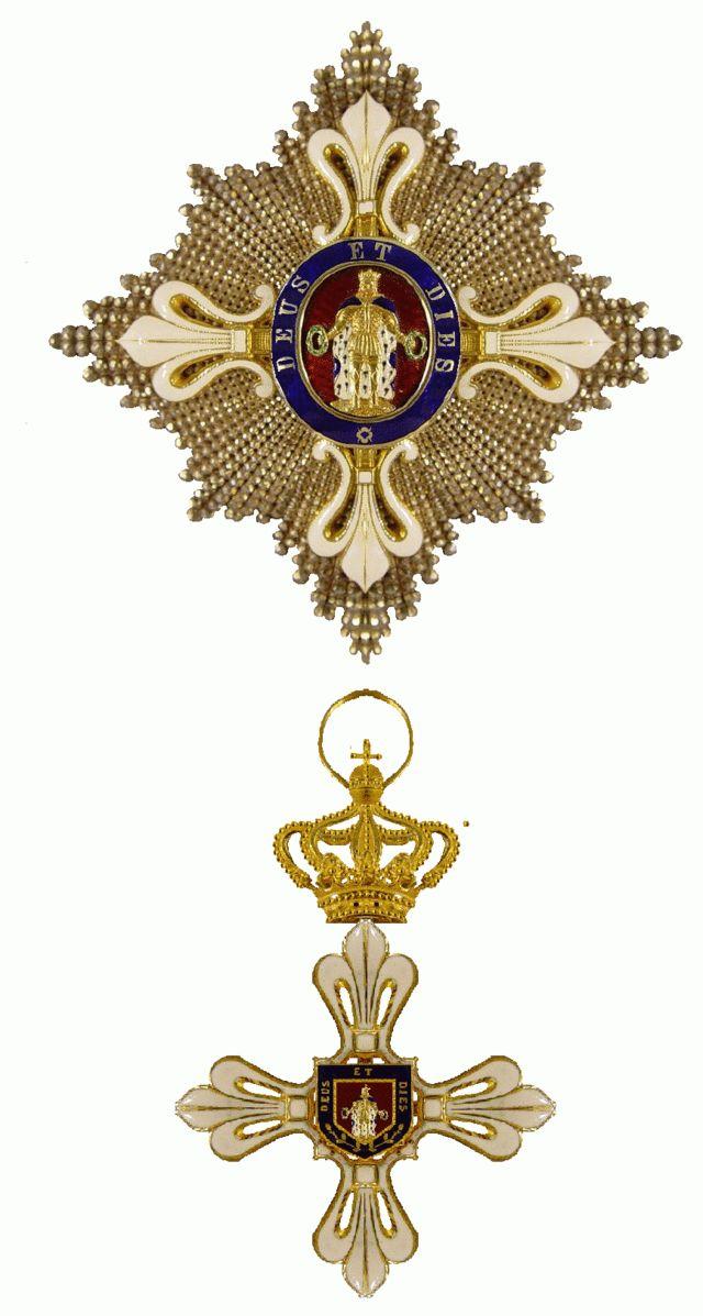 Ordine del merito sotto il titolo di San Lodovico - Duchy of Parma-Piacenza