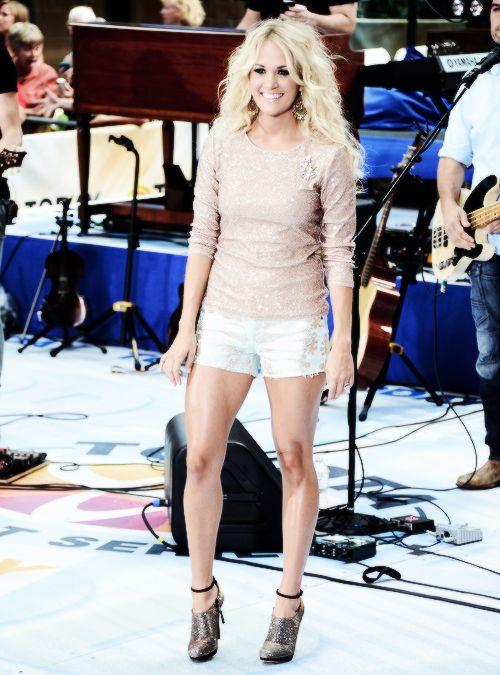 Carrie Underwood Leg Workout