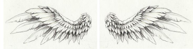 wing tattoo by Kittencaboodles.deviantart.com on @deviantART