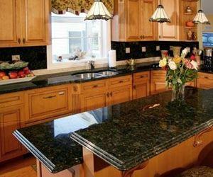 Ubatuba Granite Oak Cabinets Ubatuba Granite Popular Kitchen Designs Kitchen Photos