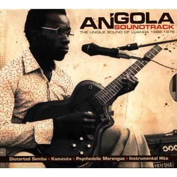 Angola Soundtrack/The Unique Sound Of Luanda 1968-1976 ドイツのレーベル、アナログアフリカからアンゴラ共和国の70年代のヤバシい曲を まとめたすばらしいコンピ。2枚組LPです。 辺境はコンピから攻めていくのがいいです。 思いっきりアフロビートではないので、ハイライフ感のあるギターと変則ドラム打ちが ものすごい、疾走グルーヴばかり。 至高の雑食音楽といったトコでしょう! いやぁ、アガるわ。 中南米音楽が好きなみなさんにもおすすめ。 パレンケへつなげたりと、BPMもいい感じで早いです。 中でもラテンよりのPachanga Maria - Os Bongosが個人的に好き。
