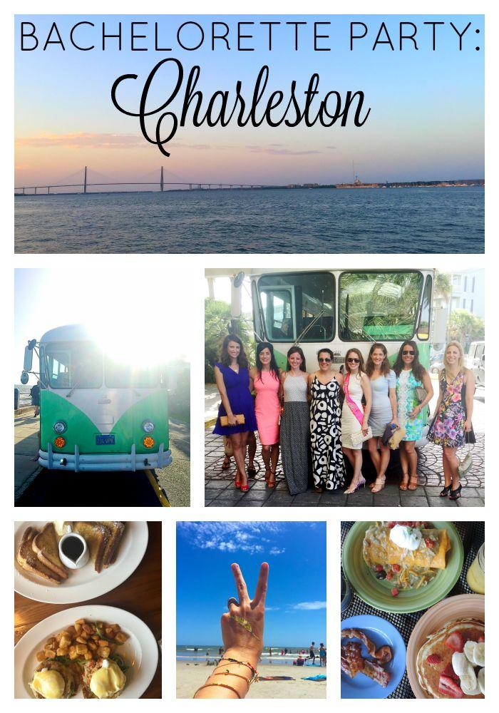 Charleston, South Carolina Bachelorette Party Ideas!!