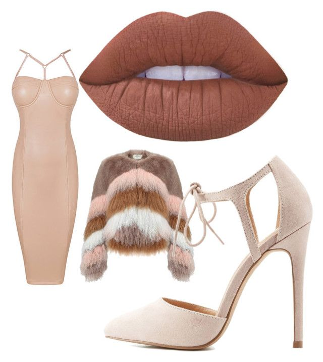 """""""in the nude"""" by oliviasjstad on Polyvore featuring Urbancode, Charlotte Russe and Lime Crime"""