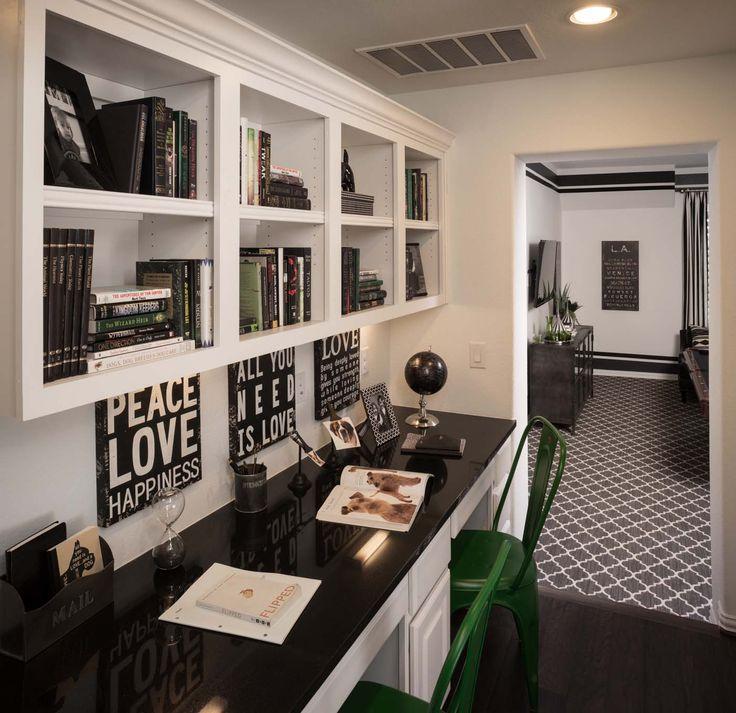 25 best Built-in Desks images on Pinterest | Home plans, Highlands ...