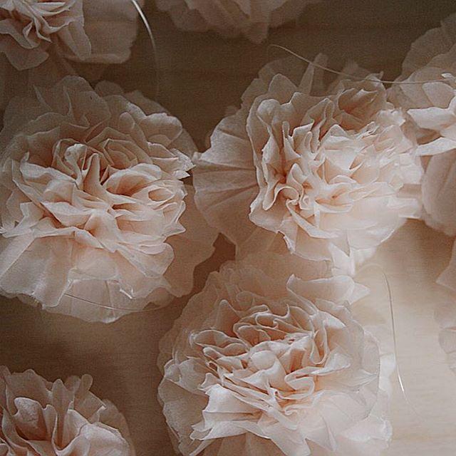 Champagne Pom-Pom 5cm, dekorace na svatbu, oslavy, výzdobu ...ruční výroba ..#pompomtime #champagne #pompom #pom #flowers #kvetiny # paperflowers #papirovekytky   #hedvabnypapir#svatba  #nevstainfo #czechgirl  #czechmade 👗www.pompomtime.cz