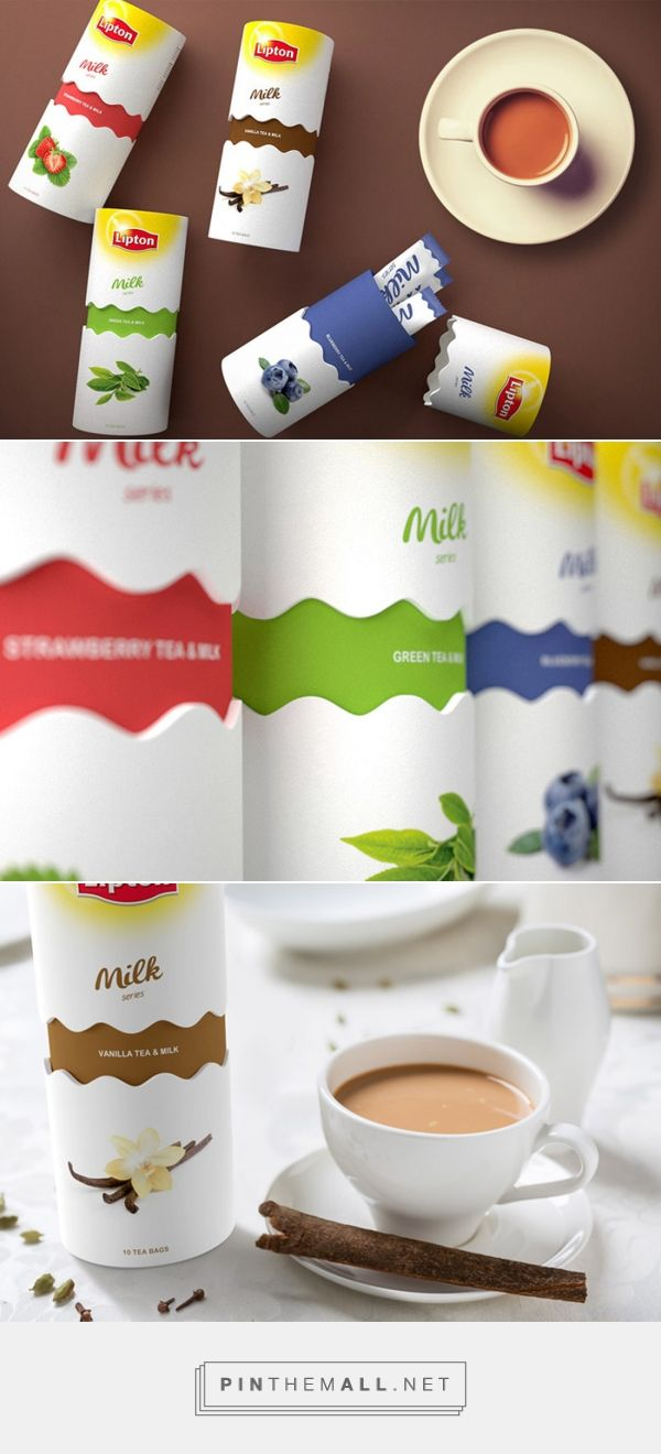 Milk Tea LIPTON Designed by Alexander Ilinykh