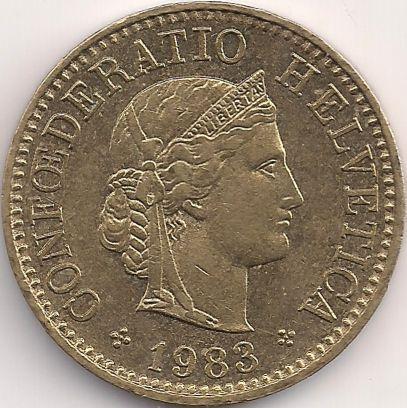 Motivseite: Münze-Europa-Mitteleuropa-Schweiz-Franken-0.05-1981-2015