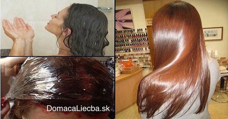 Chcete si zafarbiť vlasy, no obávate sa chemikálií v bežných farbách na vlasy? Tak si skúste na ne aplikovať túto domácu prírodnú farbu.