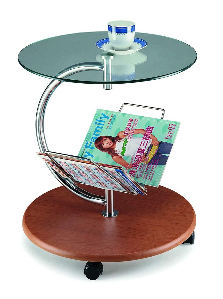 New Spec Inc Cota C Coffee Table With Magazine Holder Like I Because Of All The Circles And Blue Green Topper
