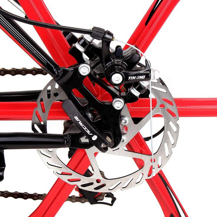 26 X 17inch Mountain Bike 21 Speed High Carbon Steel Frame Damping Bike Bicycle Cycling Sale - Banggood.com