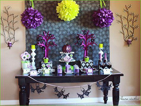 Halloween party.: Halloween Desserts, Halloween Theme, Sweet Tables, Halloween Parties Ideas, Halloween Glam, Colors Schemes, Tomkat Studios, Desserts Tables, Halloween Sweet