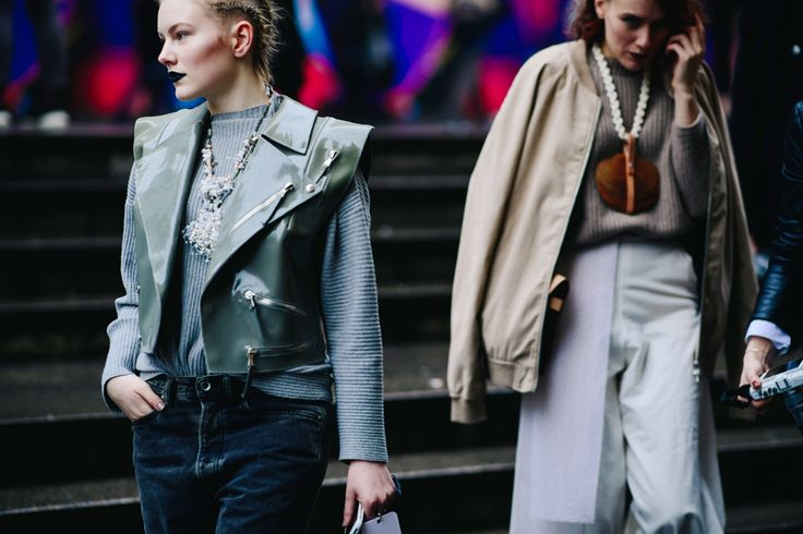 Streetstyle на Неделе моды в Праге