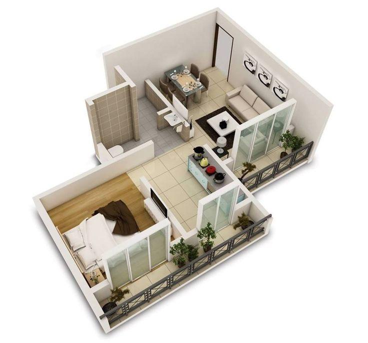 Hauspläne 3d  137 besten arch | 3D project presentation Bilder auf Pinterest ...