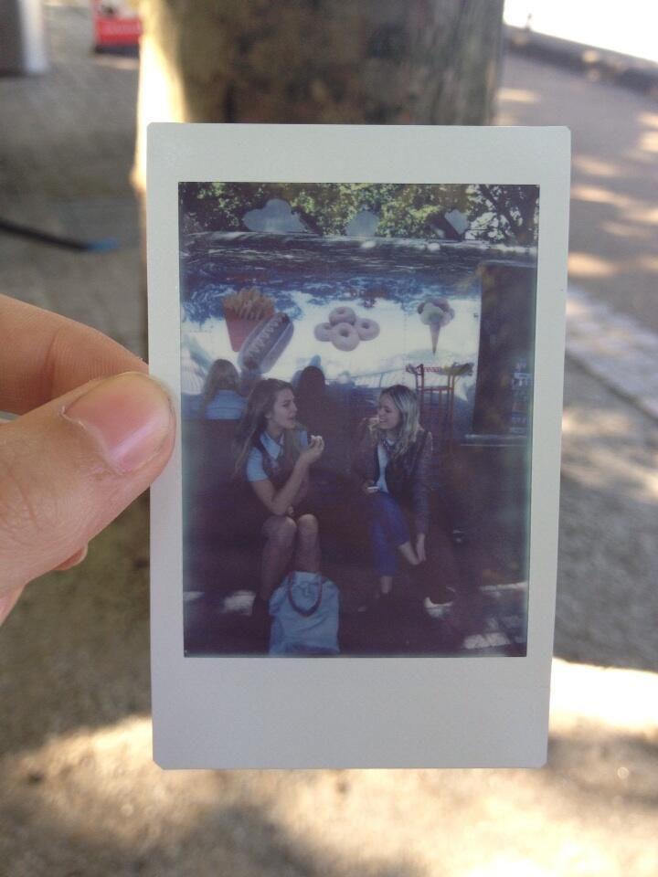 Polaroid from London England