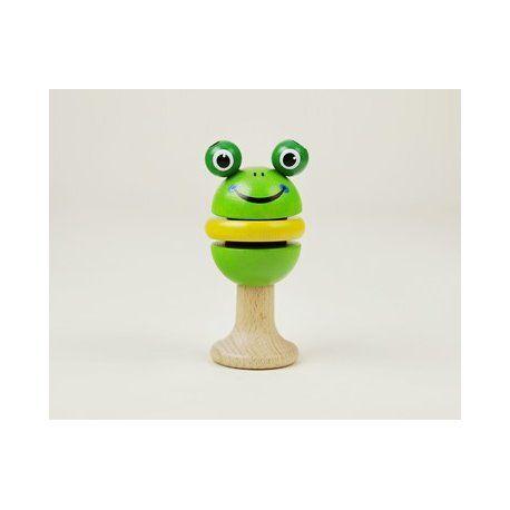 Patrzymy ... Wypatrujemy .. pomaga nam żaba:) i jest:)  Piątek, piąteczek, piątunio:) Uwielbiamy:)  Sympatyczna grzechotka klekotka żabka Detoa 14169 z drewna dla niemowląt już od 6 miesięcy, pomalowana bezpiecznymi farbami i bezpieczna do gryzienia - przynosi ukojenie w czasie ząbkowania.   Miłego Weekendu:)  http://www.niczchin.pl/grzechotki-dla-niemowlat/4329-detoa-14169-grzechotka-klekotka-zabka.html  #detoa #dlaniemowląt #targizabawek #niczchin #kraków